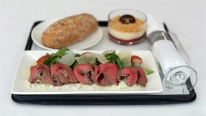 British Airways improves short haul business class food