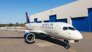 Airbus rolls out Delta's first A220
